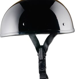 GBNP-M SMALLEST LIGHTEST DOT GLOSS BLACK HELMET