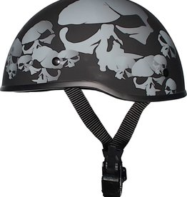 SOA-SKULL-FBNP-L SKULL NATION NO PEAK HELMET