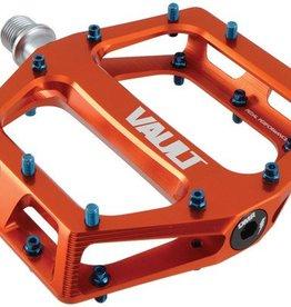 """DMR Vault Pedals, 9/16"""" Alloy Platform Orange"""