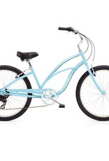 "Electra Cruiser 7D Light Blue - Ladies 26"" - 2018"
