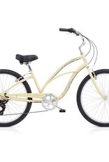 "Electra Cruiser 7D Ladies Cream Sparkle 26"" - 2018"