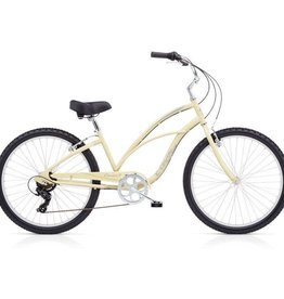 "Electra Cruiser 7D Cream Sparkle - Ladies 26"" 2018"