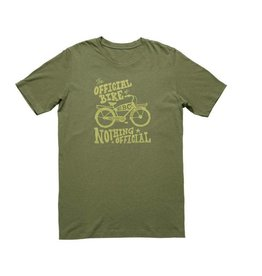 SHIRT ELECTRA NOTHING OFFICIAL T MEN'S XX-LARGE OLIVE