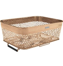 BASKET ELECTRA  QR MESH LOW PROFILE MATTE COPPER