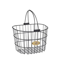 Basket Nantucket Surfside Wire Grey Front