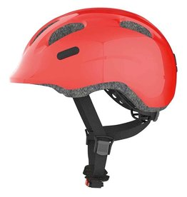 Abus, Smiley, Helmet, Sparkling Red, Small 45-50cm