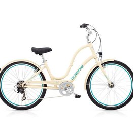 "Electra Townie Original 7D EQ Cream - Ladies 26"" 2018"