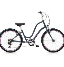 "Electra Townie Original 21D EQ Seal Grey - Ladies 26"" 2018"