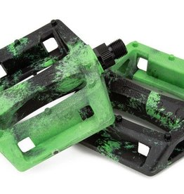 Mission Impulse PC pedals - black/kelly green