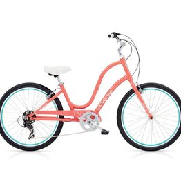 "Electra Townie Original 7D Coral - Ladies 26"" 2018"