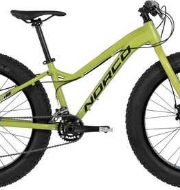 "Norco Bigfoot 4.3 Fat Bike 24"" Yellow/Blue 2017"