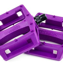 Mission Impulse Pedals - Purple