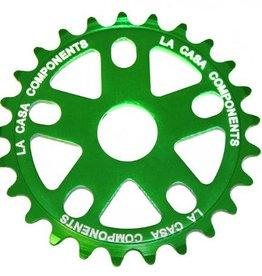 La Casa CNC Alloy Sprocket - 25T - Green