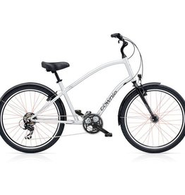 "Electra Townie Original 21D EQ Liquid Silver - Mens 26"" - 2018"
