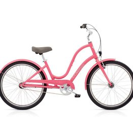 "Electra Townie Original 3i EQ Ladies Pink Grapefruit 26"" - 2018"