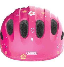 Abus, Smiley, Helmet, Pink Butterfly, Medium 50 - 55cm