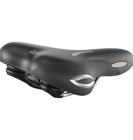 Selle Royal, Lookin Moderate, Saddle, 269 x 198mm, Women, 595g, Black