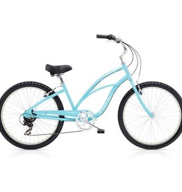 "Electra Cruiser 7D Light Blue - Ladies 24"" 2018"