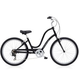"Electra Townie Original 7D - Black Ladies 26"" - 2018"