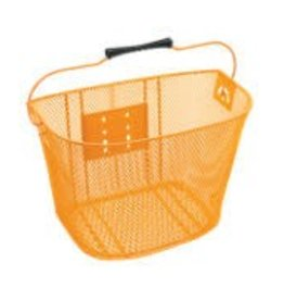 BASKET ELECTRA QR STEEL MESH ORANGE