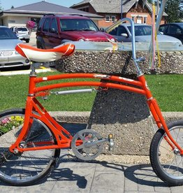 Swing bike orange, circa 1970s, preowned