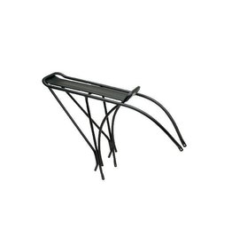 Electra Townie Rack Alloy Black - Rear fits 26""