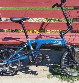 Ori, folding bike, blue, preowned