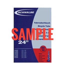 Schwalbe Tube #6 20 x 1-1/8-1.5 Presta Valve, Standard Length