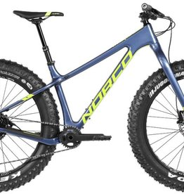 Norco Ithaqua, Large frame, fat bike, Blue, 2018