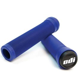 ODI Longneck SL (Soft) Flangeless Grip 133MM - Blue