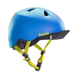 Bern, Nino, Helmet, Matte Blue, XSS 48 - 51.5cm