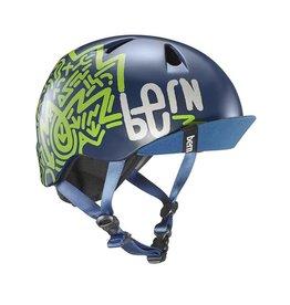 Bern, Nino, Helmet, Matte Navy Blue, XSS 48 - 51.5cm