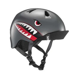 Bern, Nino, Helmet, Satin Grey Flying Tiger, SM 51.5 - 54.5cm