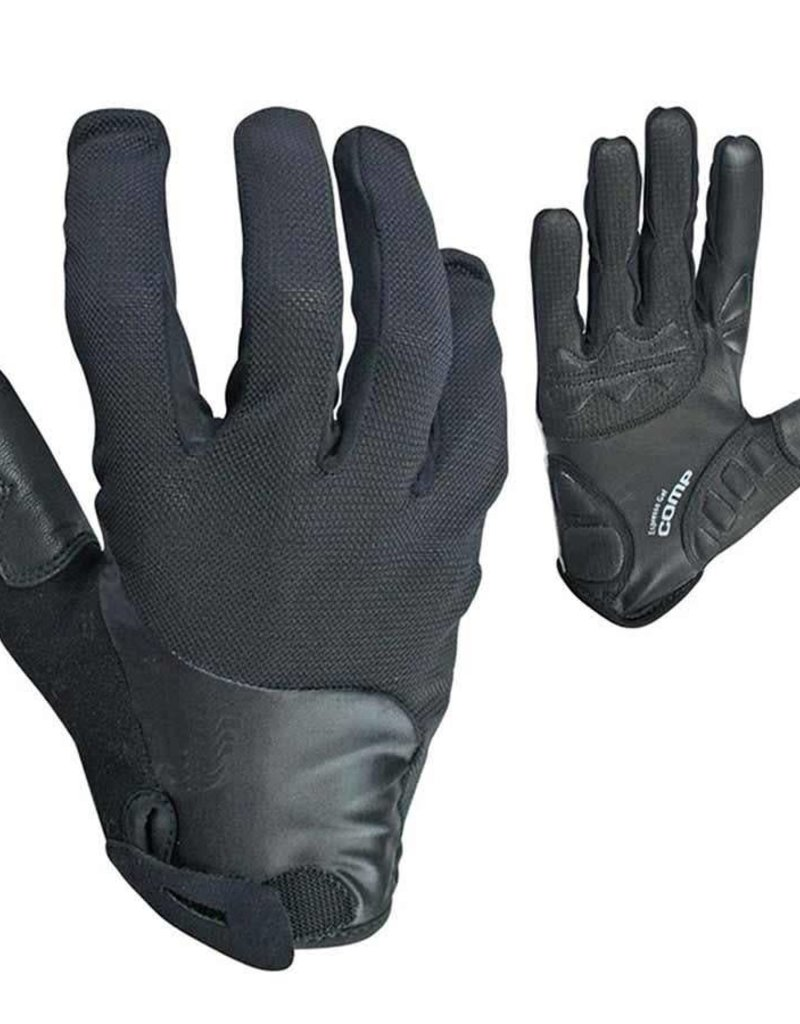 EVO, Espresso Gel Pro, Gloves, Black, Large