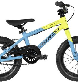 "Norco Ninja Coaster A 14"" Cyan Yellow - 2018"