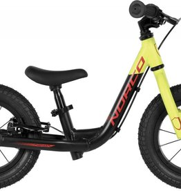 "Norco Ninja Runbike 12"" Black Yellow w/brake - 2018"