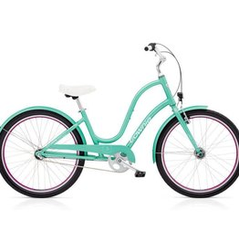"Electra Townie Original 3i EQ Ladies Emerald Green 26"" - 2018"