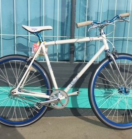 Norco Spade, fixy, white, Medium frame, 700 wheel,preowned