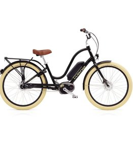 "Electra Townie Go! 8i Ladies Ebony Black 26"" - 2018"