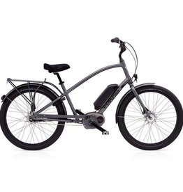 "Electra Townie Go! 8i Mens Graphite Grey 26"" - 2018"