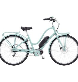 Electra Townie Commute Go! 8i Ladies Mineral Blue 700 - 2018