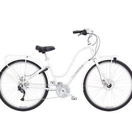 Electra Townie Commute 27D Ladies White 700 - 2018