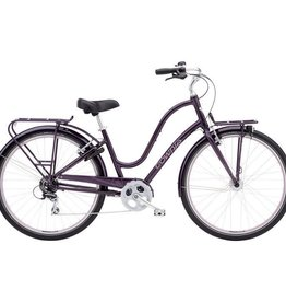Electra Townie Commute 8D Ladies Aubergine 700 - 2018