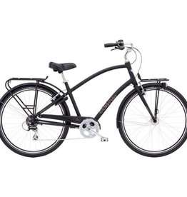Electra Townie Commute 8D Mens Matte Black - 2018