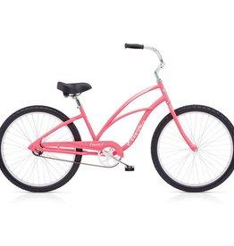 """Electra Cruiser 1 Ladies Neon Pink 26"""" - 2018"""