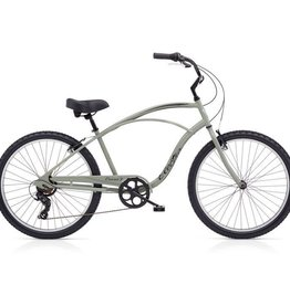 "Electra Cruiser 7D Mens Putty Green 26"" - 2018"