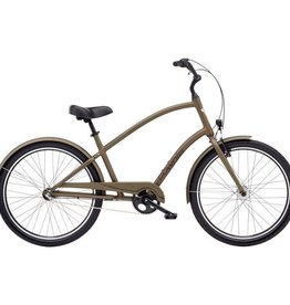 "Electra Townie Original 3i Mens Matte Bronze 26"" - 2018"