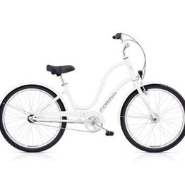 "Electra Townie Original 3i Ladies White 26"" - 2018"