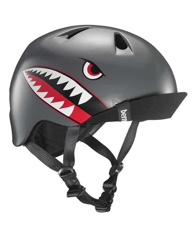 Bern, Nino, Helmet, Satin Grey Flying Tiger, XSS 48 - 51.5cm
