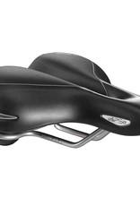 Selle Ryal, Ellipse Relaxed, Saddle, 255 x 226mm, Unisex, 700g, Black
